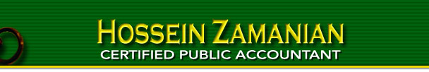 Hossein Zamanian CPA - Certified Public Account